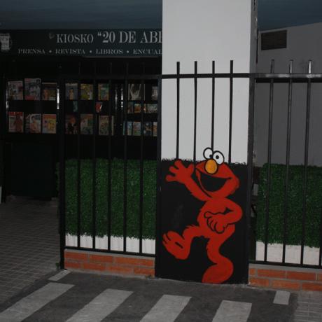 Elmo en el parque